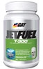 GAT JetFuel T-300, 90 Oil-Infused Capsules (+ FREE Lifting Straps)