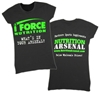 iForce / NutritionArsenal.com Women's Fitted Tee