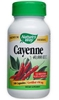 Nature's Way Cayenne, 40,000 HU 100 Capsules (BEST BY 03/12)