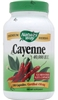 Nature's Way Cayenne 450mg, 180 Capsules (BEST BY 01/13)