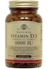 Solgar Vitamin D3 (Cholecalciferol) 1000 IU, 100 Softgels