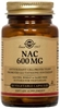 Solgar NAC 600mg, 60 vegetable capsules